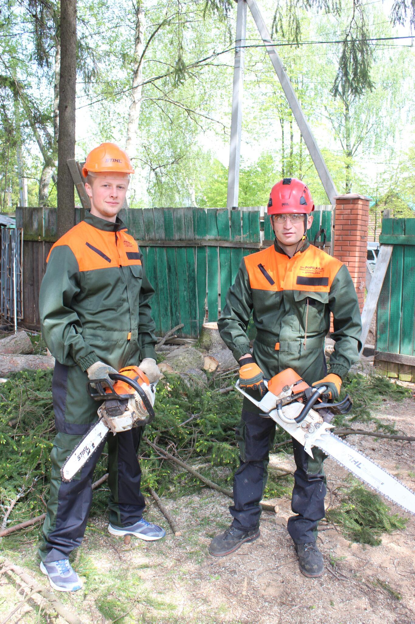 Удаление деревьев Сергиев Посад