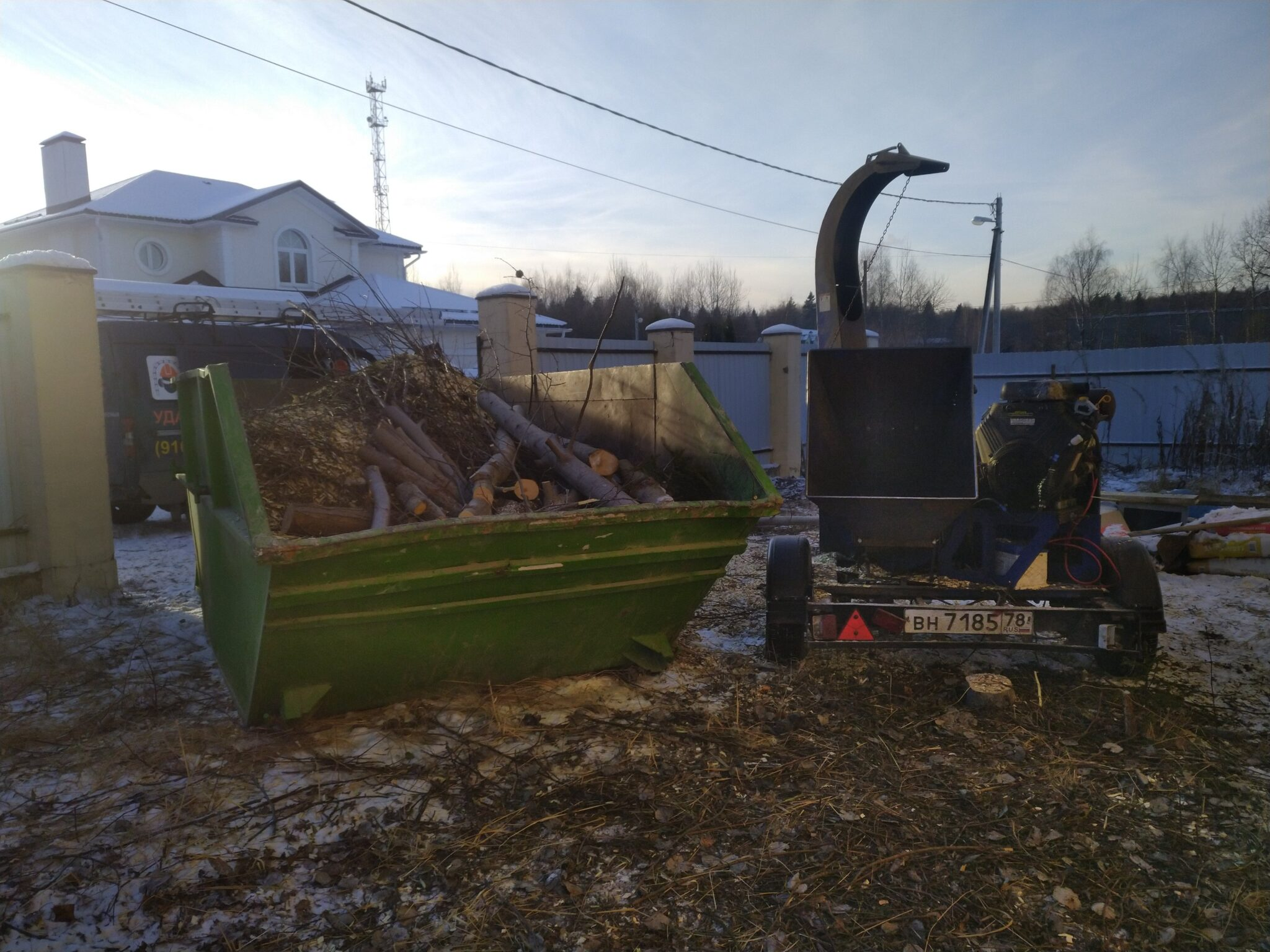 Расчистка участка. Дедовск